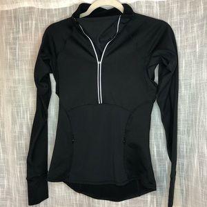 Athleta Plush Tech Pullover Jacket Thumbholes XXS